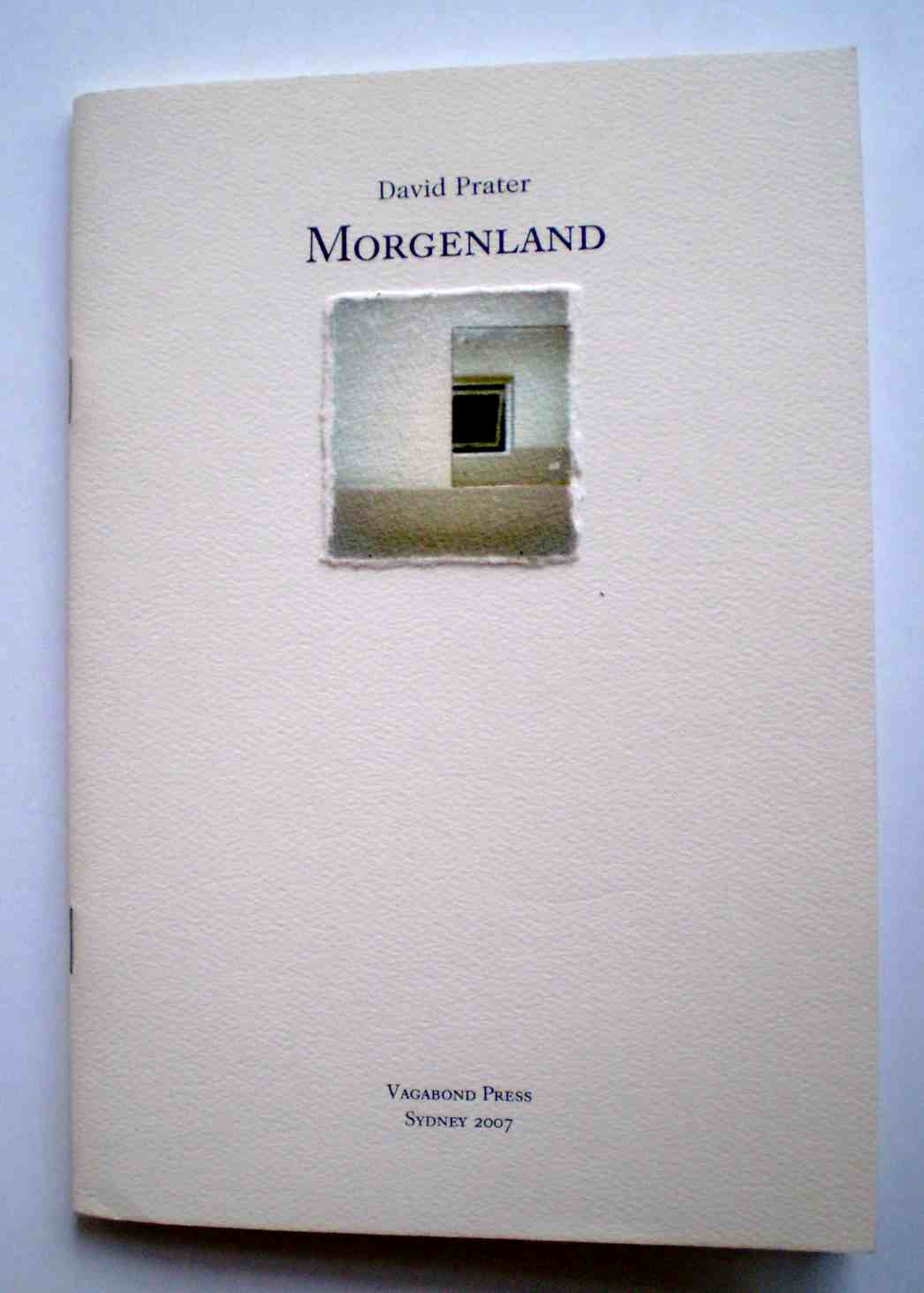 Morgenland front cover.