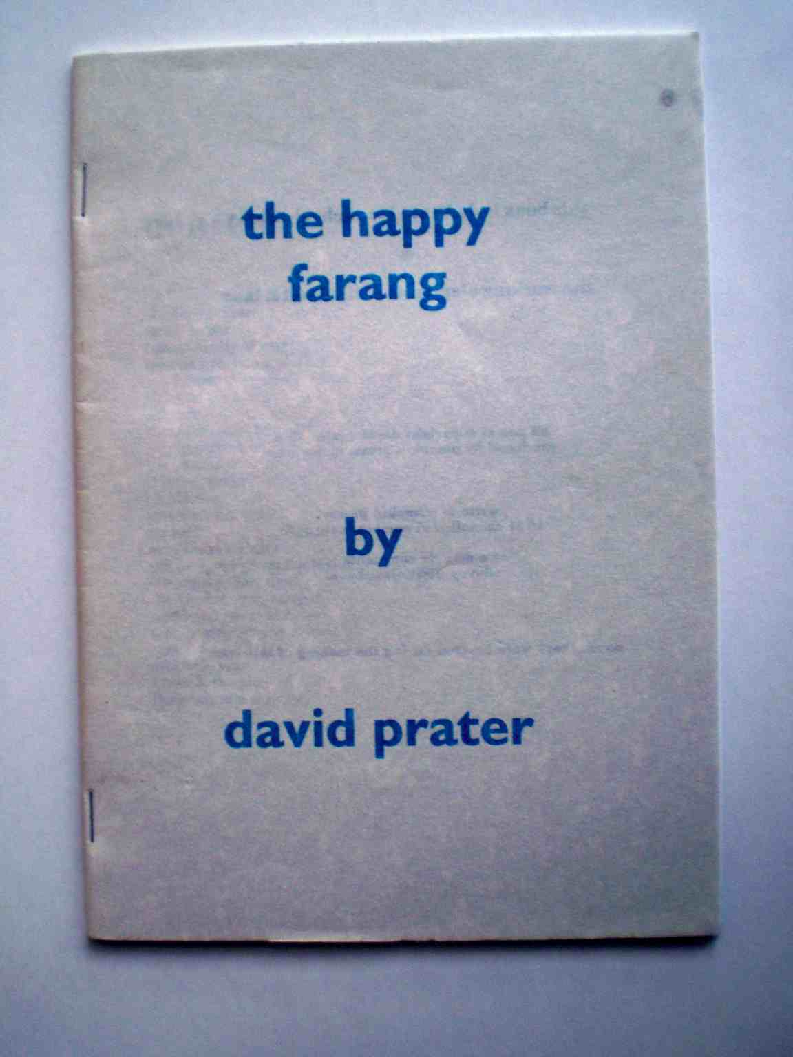 The Happy Farang, cover image.