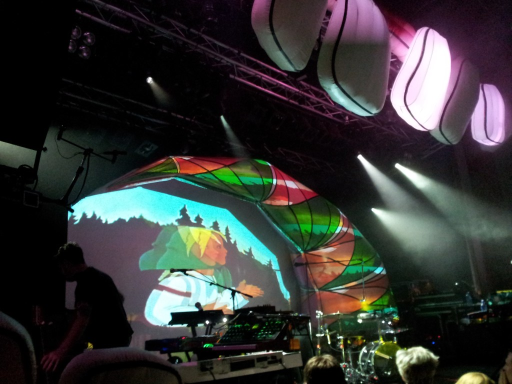 Animal Collective på Debaser Medis, Stockholm (2012)