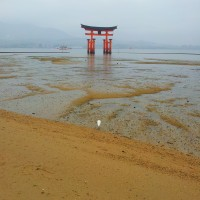 The floating torii of Miyajima