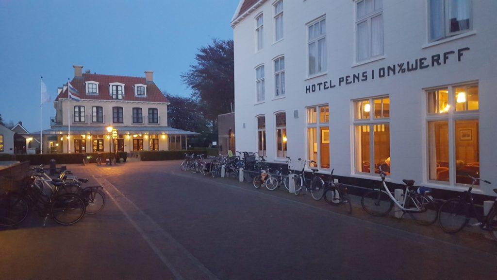 Hotel van der Werff, Schiermonnikoog.