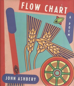 The cover of John Ashbery's long poem Flow Chart, published as a single volume in 1991.