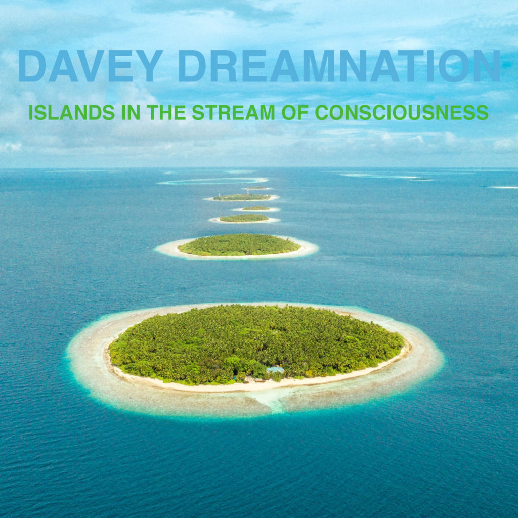 The front cover of Islands In the Stream of Consciousness