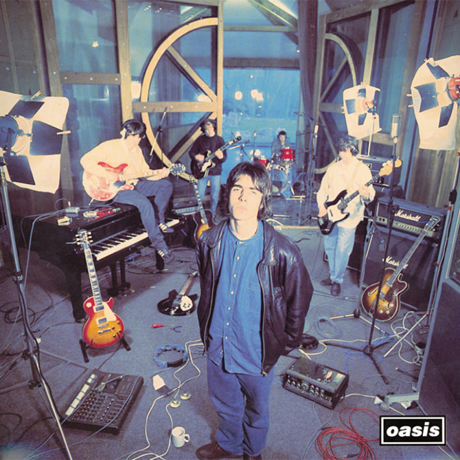 Oasis' Definitely Maybe album was preceded by a number of singles, including Supersonic.